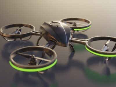 drone penyaring udara