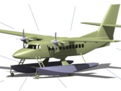 pesawat N219 Amphibi