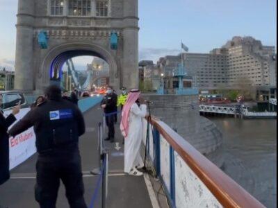 azan di tower bridge