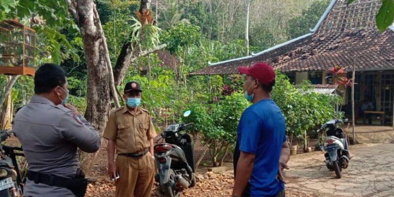 Rumah rusak akibat gempa 28 Juni 2021 Gunung Kidul, Foto: Antara