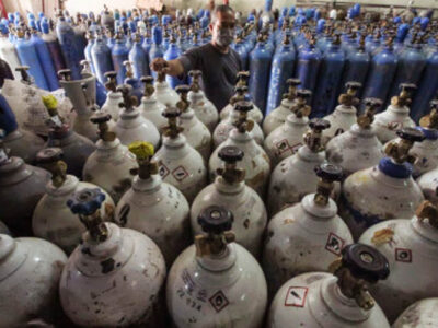 oksigen medis India